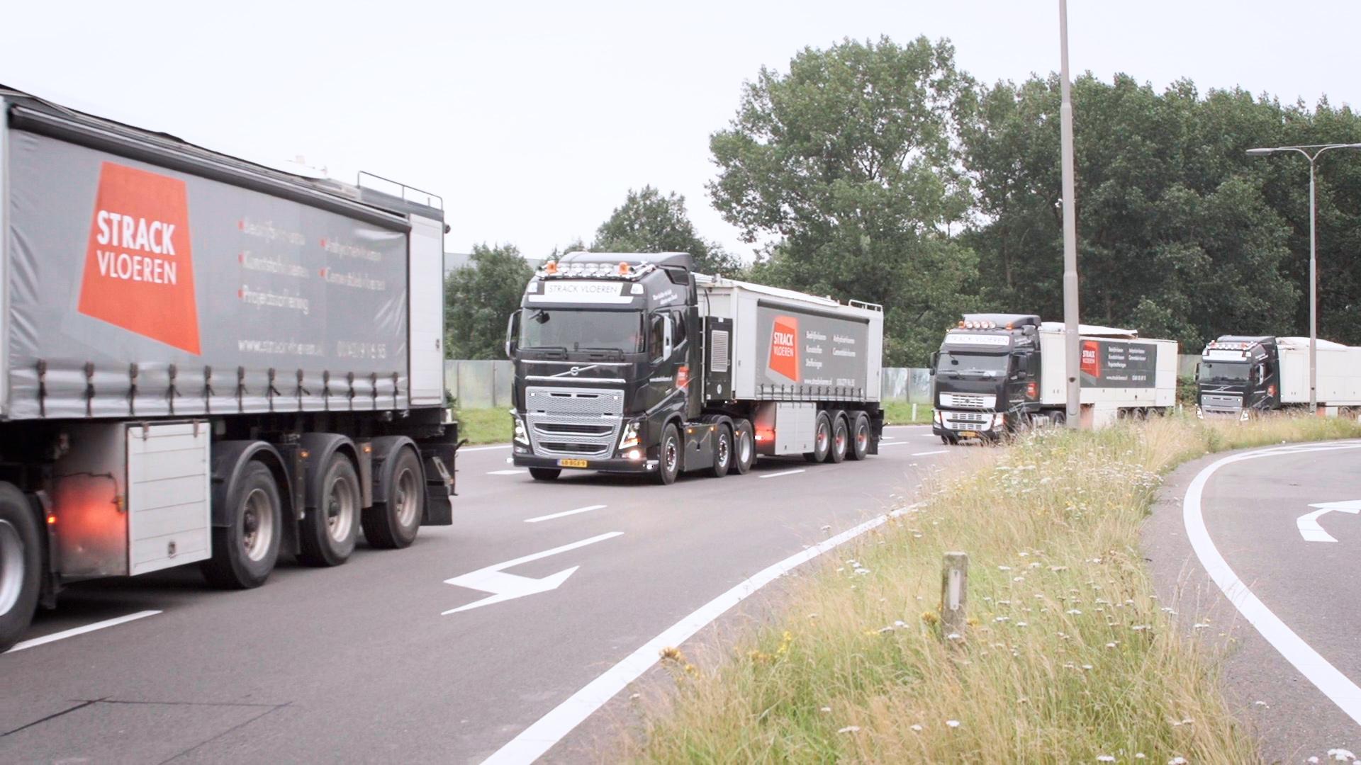 Vrachtautos Strack Vloeren maarssen